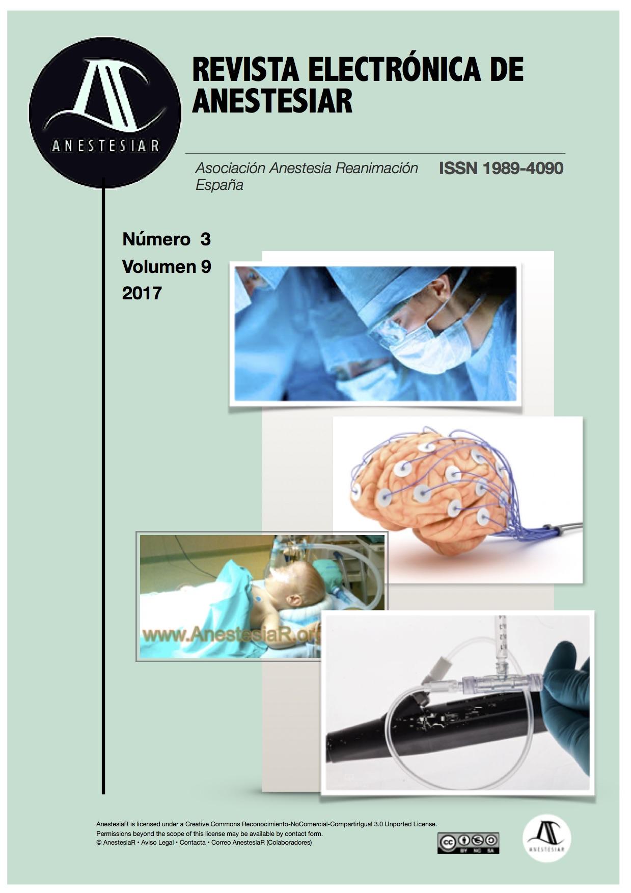 Ver Vol. 9 Núm. 3 (2017): Revista Electrónica de AnestesiaR