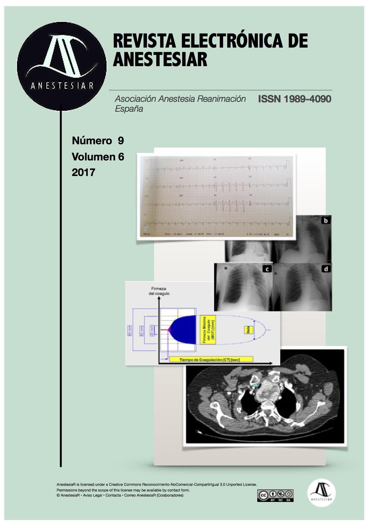 Ver Vol. 9 Núm. 7 (2017): Revista Electrónica de AnestesiaR