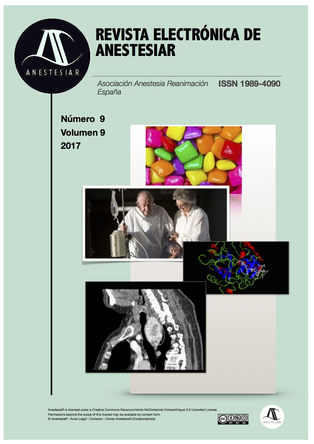 Ver Vol. 9 Núm. 9 (2017): Revista Electrónica de AnestesiaR