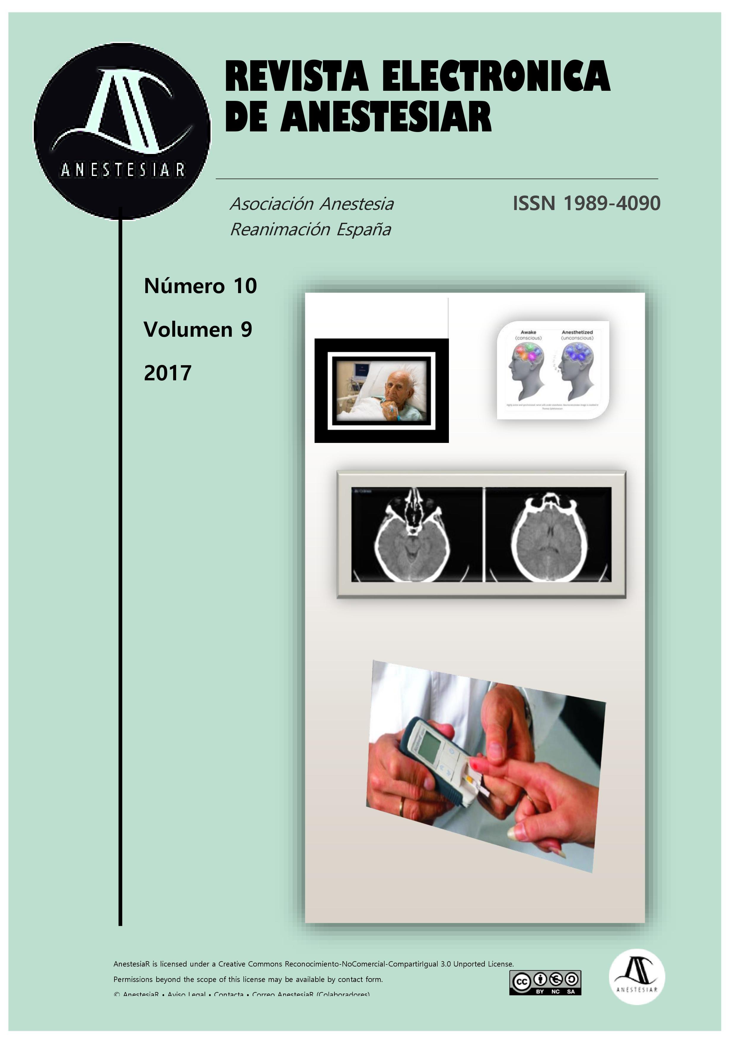 Ver Vol. 9 Núm. 10 (2017): Revista Electrónica de AnestesiaR